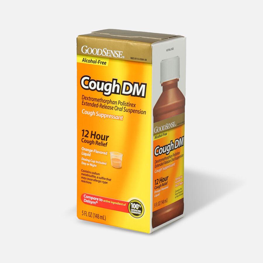 GoodSense® Cough DM 12 Hr Cough Relief Orange (Alcohol Free), 5 fl oz, , large image number 2