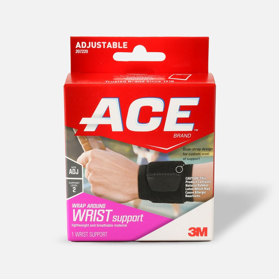 Ace Wrap Around Wrist Support, , large image number 0