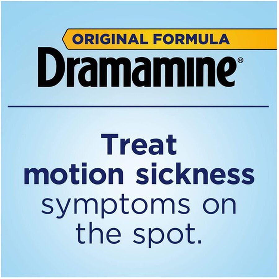 Dramamine Motion Sickness Relief Tablets, Original Formula, 36 ct, , large image number 4