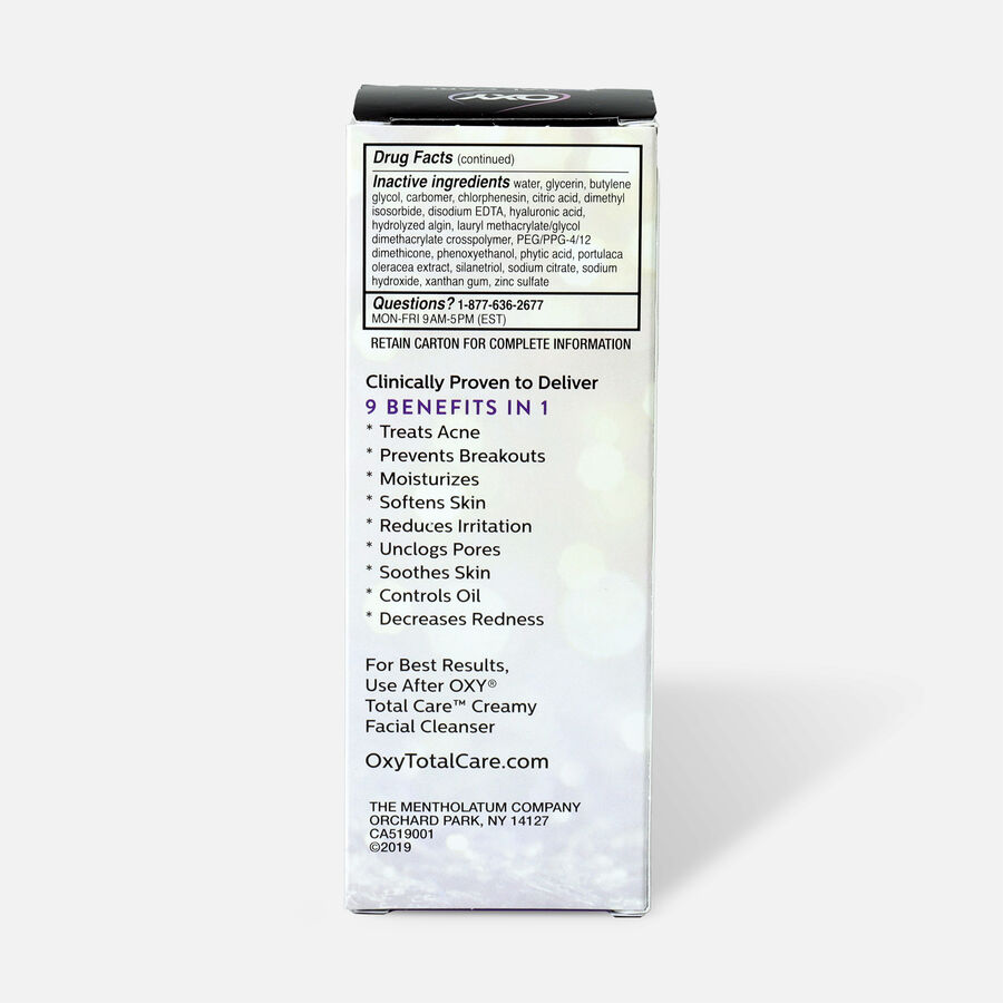 OXY Total Care Clarifying Daily Facial Moisturizer - 3.4oz, , large image number 1