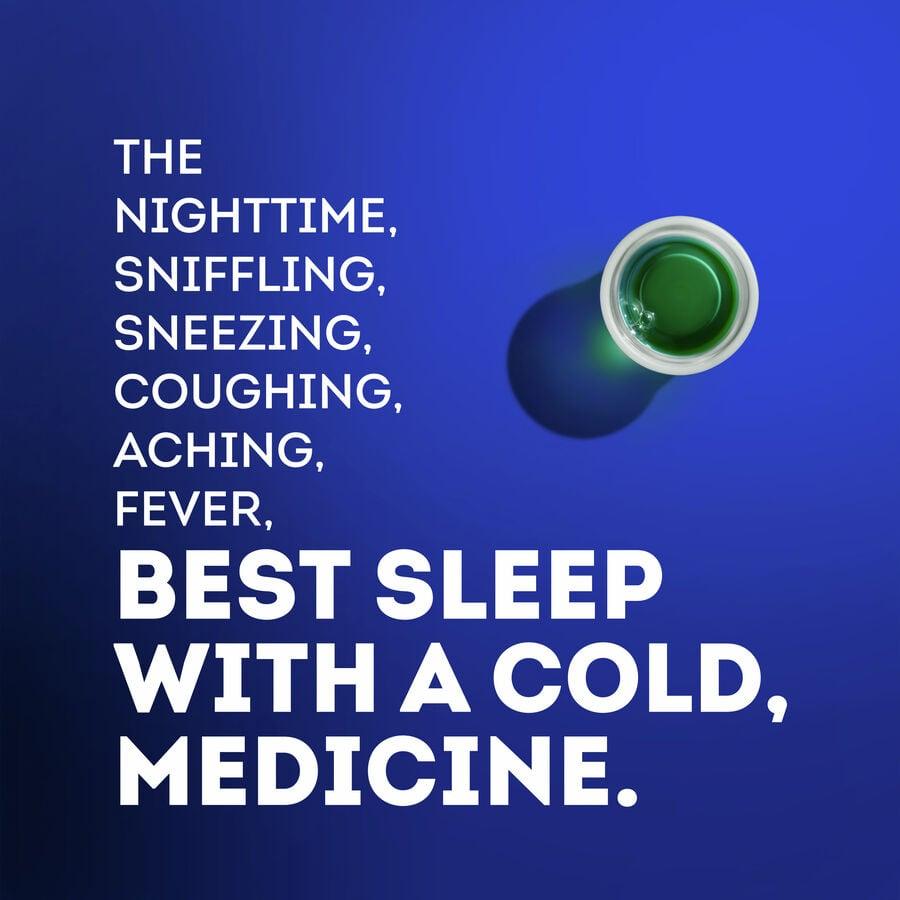 Vicks Nyquil Cold & Flu, Original, 12 oz, , large image number 3
