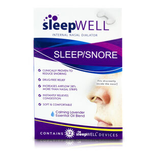 Sleep Well Internal Nasal Dialator, 12 ct