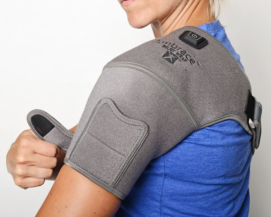 Battle Creek Embrace ™ Relief Shoulder Wrap – Portable, 3 Temperature Settings, Auto Shut Off, Wireless & Rechargeable Wrap, Battery-Operated Heat Therapy Wrap for Rotator Cuff and Shoulder Pain Relief, , large image number 19