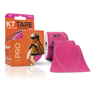 KT TAPE PRO, Pre-cut, 20 Strip, Synthetic, Hero Pink
