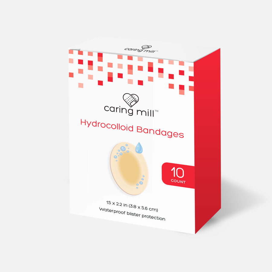 Caring Mill™ Hydrocolloid Bandages, , large image number 0