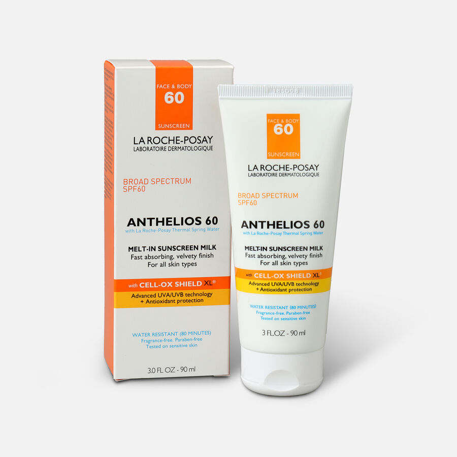 La Roche-Posay Anthelios Melt-In Milk Sunscreen, SPF 60, 3.04 fl oz, , large image number 0