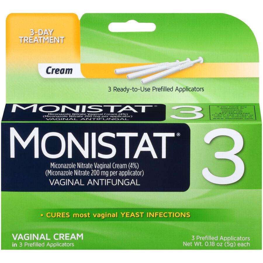 Monistat 3, Simple Cure, , large image number 0