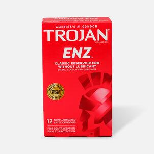 Trojan Non-Lubricated Latex Condoms, 12 ea