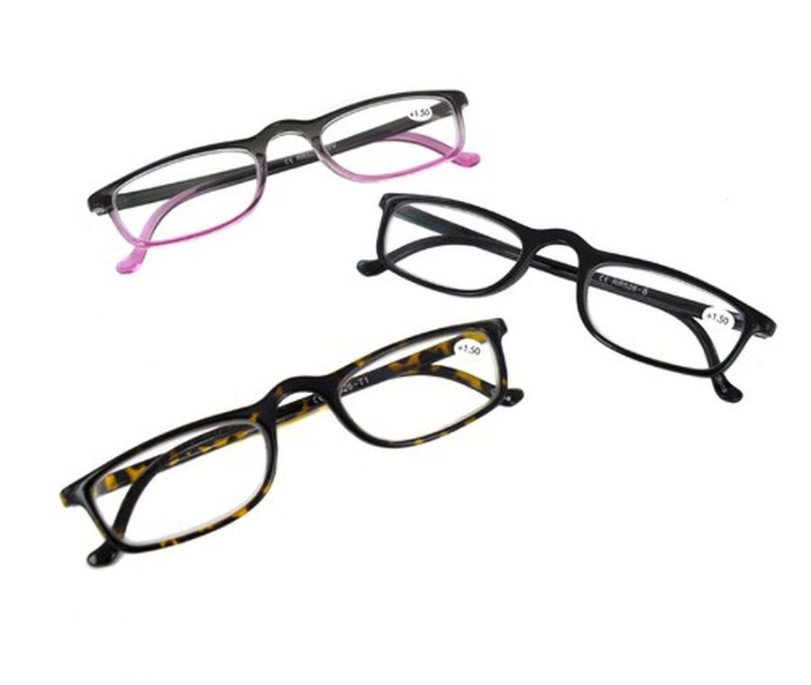 In Focus Designer 3-Pack Reading Glasses, , large image number 0