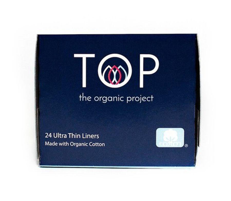 TOP Organic Cotton Ultra Thin Panty Liners, Light, 24 ct, , large image number 3