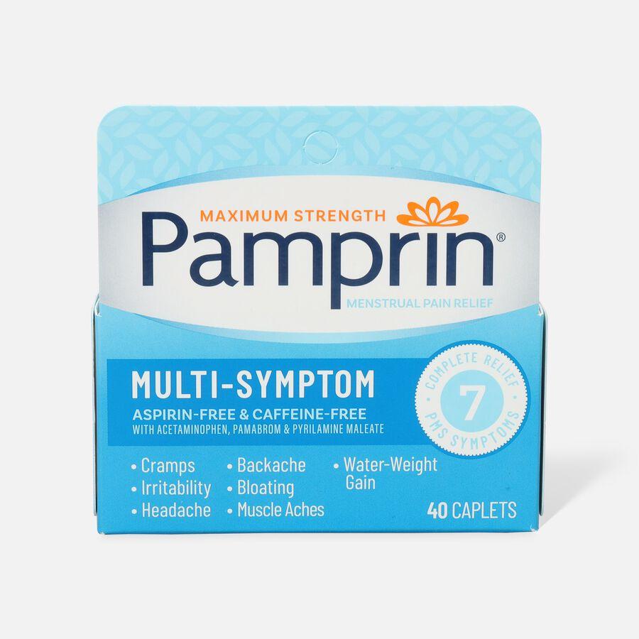 Pamprin Multi-Symptom Caplets, 40 ct, , large image number 1