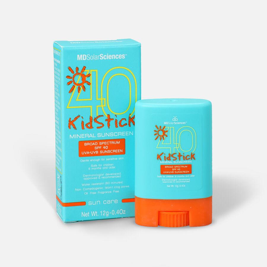 MDSolarSciences Mineral Sunscreen KidStick SPF 40, 0.4 oz., , large image number 0