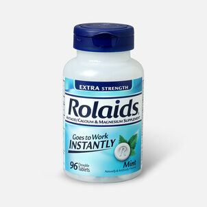 Rolaids Extra Strength Tablets, Mint, 96 ct.