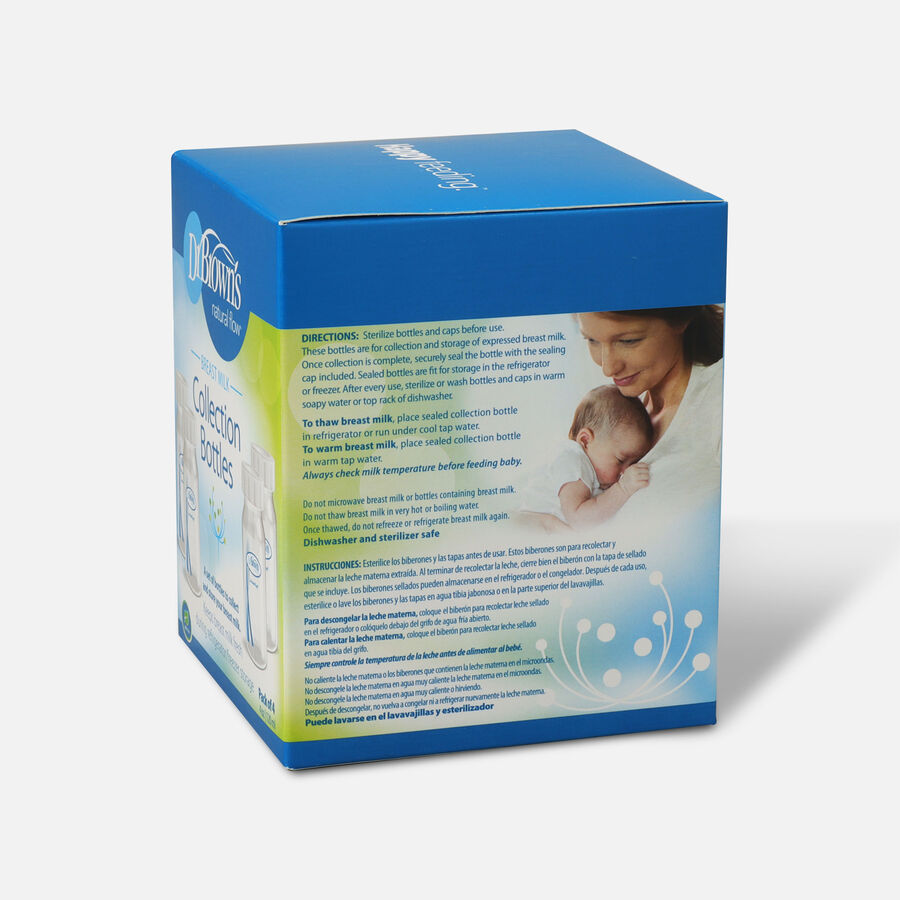 Dr. Brown's™ Breast Milk Collection Bottles, , large image number 1