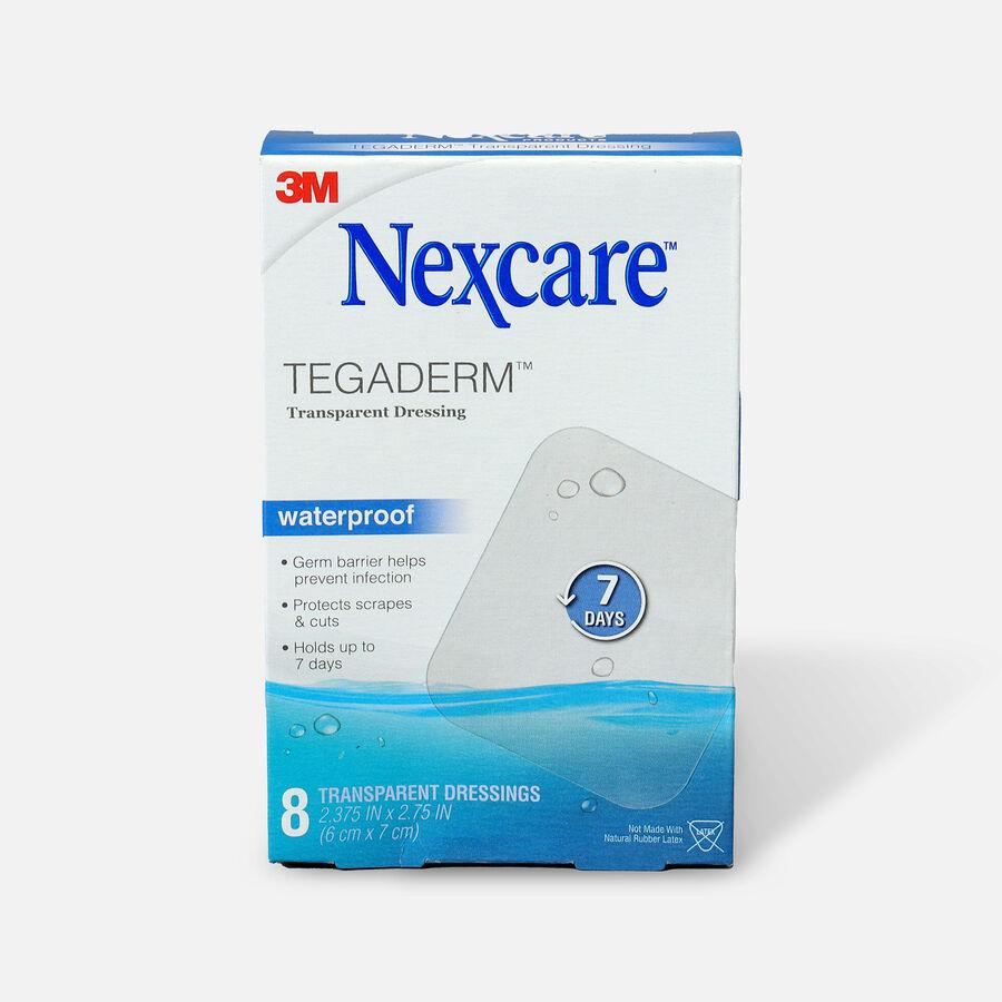Nexcare Tegaderm Transparent Dressing, 8 ea, , large image number 0