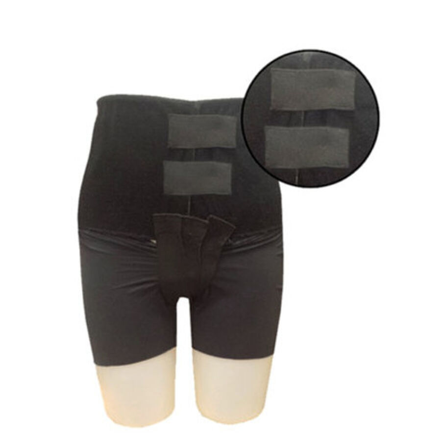 Mama Strut Postpartum Support Pelvic Binder with Ice/Heat Therapy, Black, , large image number 5