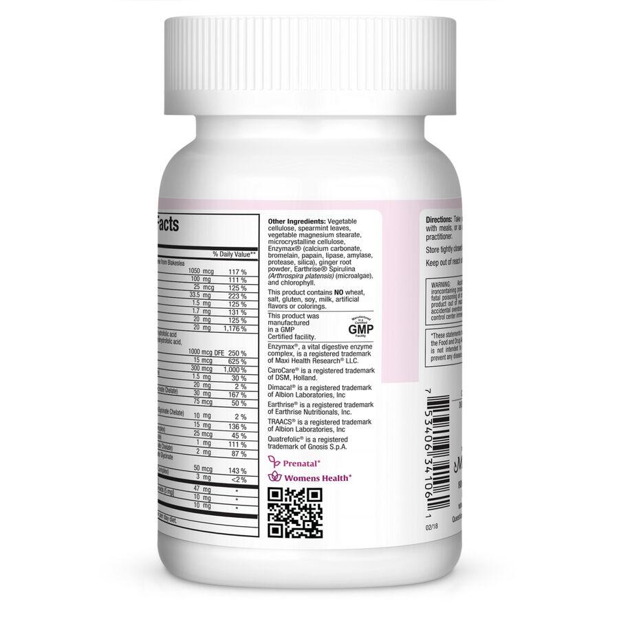 Maxi Health Maxi Methyl One Prenatal Capsules, 60 ct, , large image number 3
