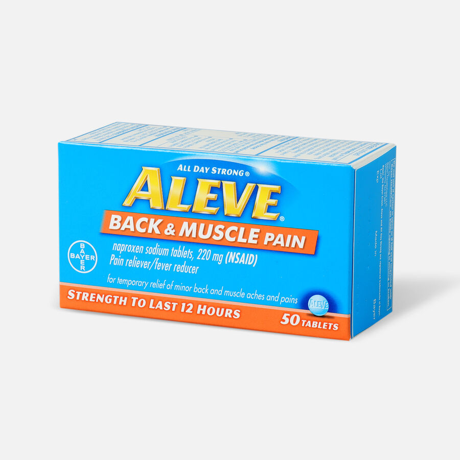 Aleve Back & Muscle Pain, 50ct, , large image number 2