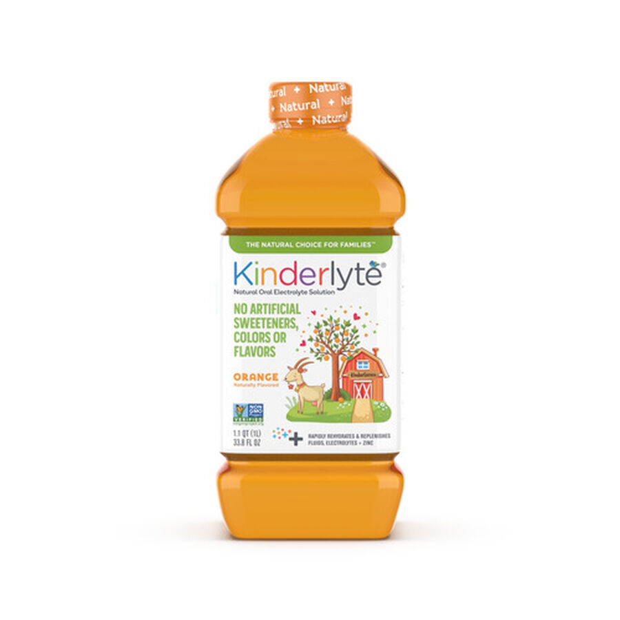 Kinderlyte Natural Oral Electrolyte Solution, Liquid, 33.8 fl. oz., , large image number 2