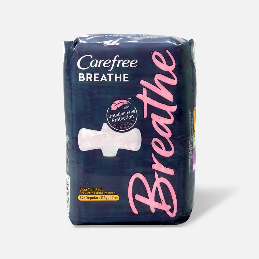 Carefree Breathe Ultra Thin Regular Pads with Wings, , large image number 2