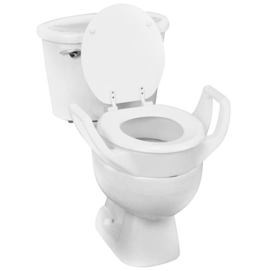 DMI® Toilet Seat Riser with Arms - Elongated, , large image number 1