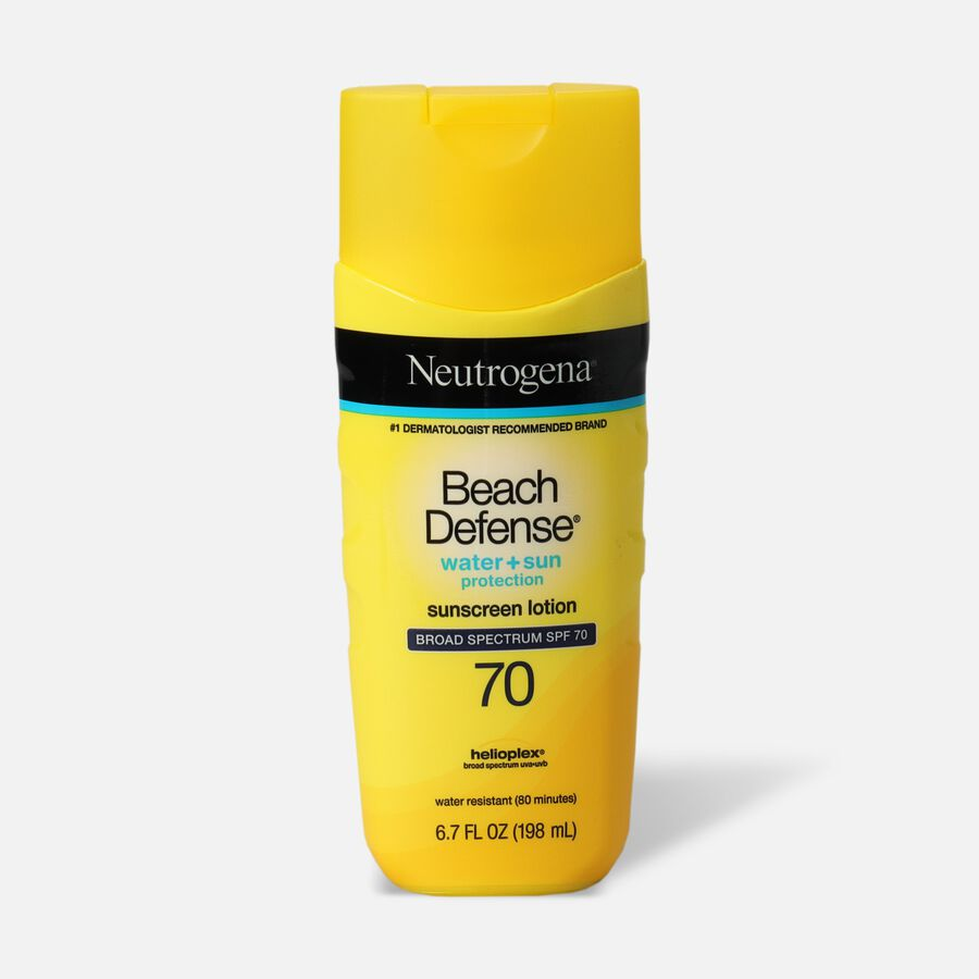 Neutrogena® Beach Defense® Sunscreen Lotion Broad Spectrum SPF 70, 6.7 Oz, , large image number 0