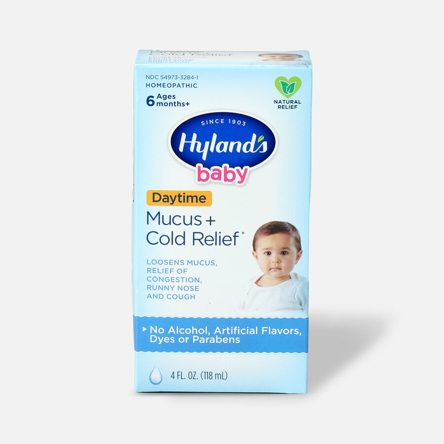 Hyland's Baby Mucus and Cold Relief, 4 oz, , large image number 0