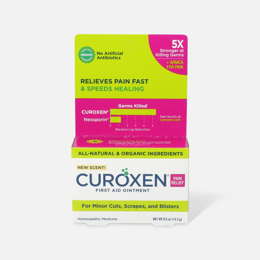 Curoxen First Aid Ointment with Pain Relief, 0.5 oz, , large image number 0