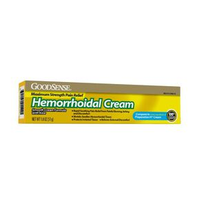GoodSense® Hemorrhodial Cream Max Strength Pain Relief, 1.8 oz