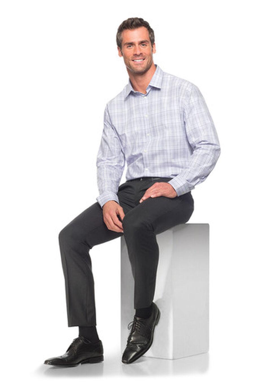 SIGVARIS Essential Cotton Men's Socks, Long, Black, , large image number 5