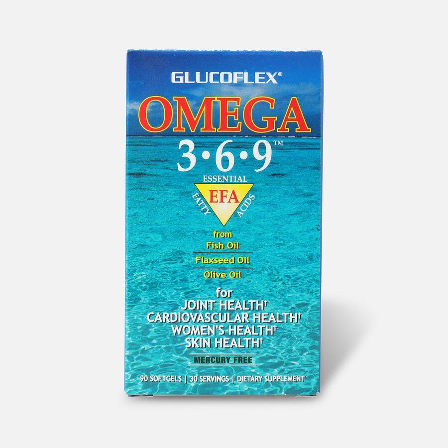 Windmill Glucoflex Omega 3-6-9 Softgels, 90 ea, , large image number 0