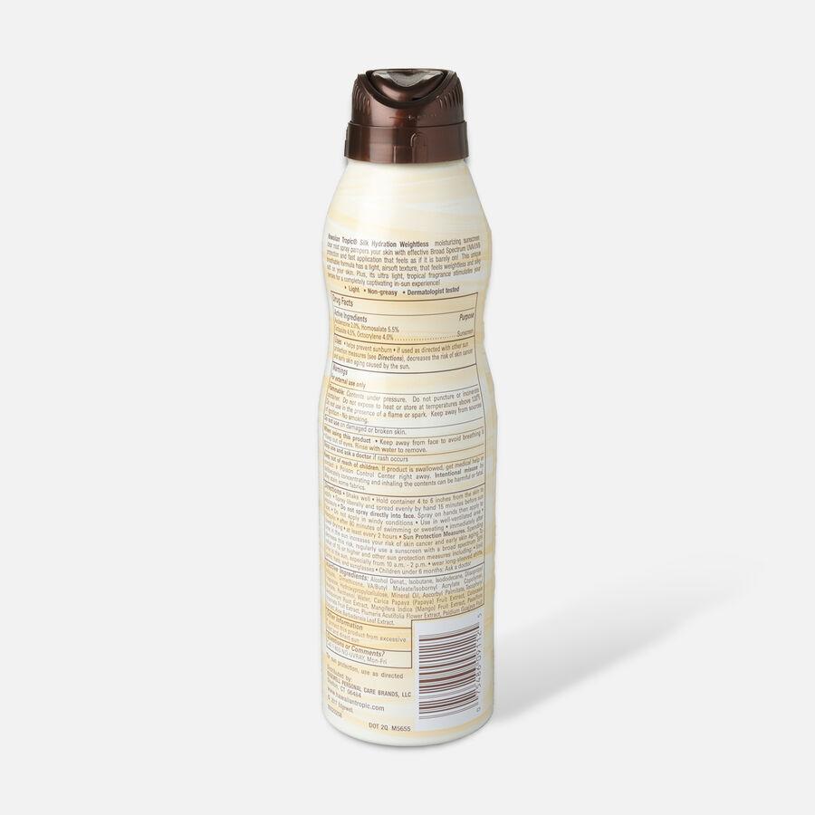 Hawaiian Tropic Silk Hydration Weightless Sunscreen Spray, 6oz., , large image number 3