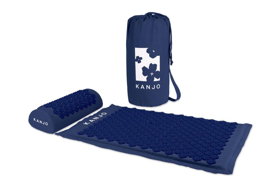 Kanjo Memory Foam Acupressure Mat Set, Navy Blue, , large image number 3