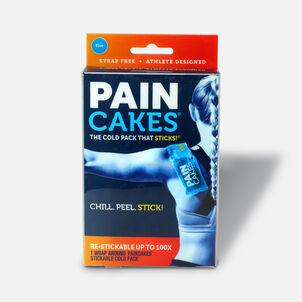 """PainCakes Wrap Stickable Cold Pack, Blue, 10"""""""