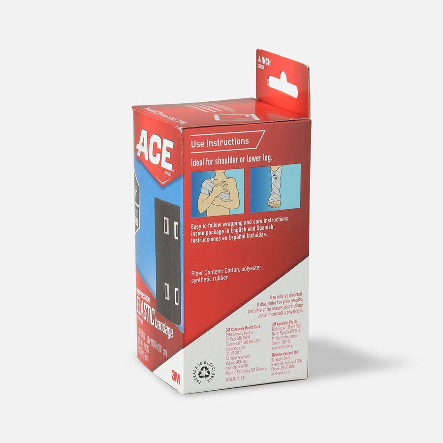Ace Elastic Bandage with Clips - Black, , large image number 8