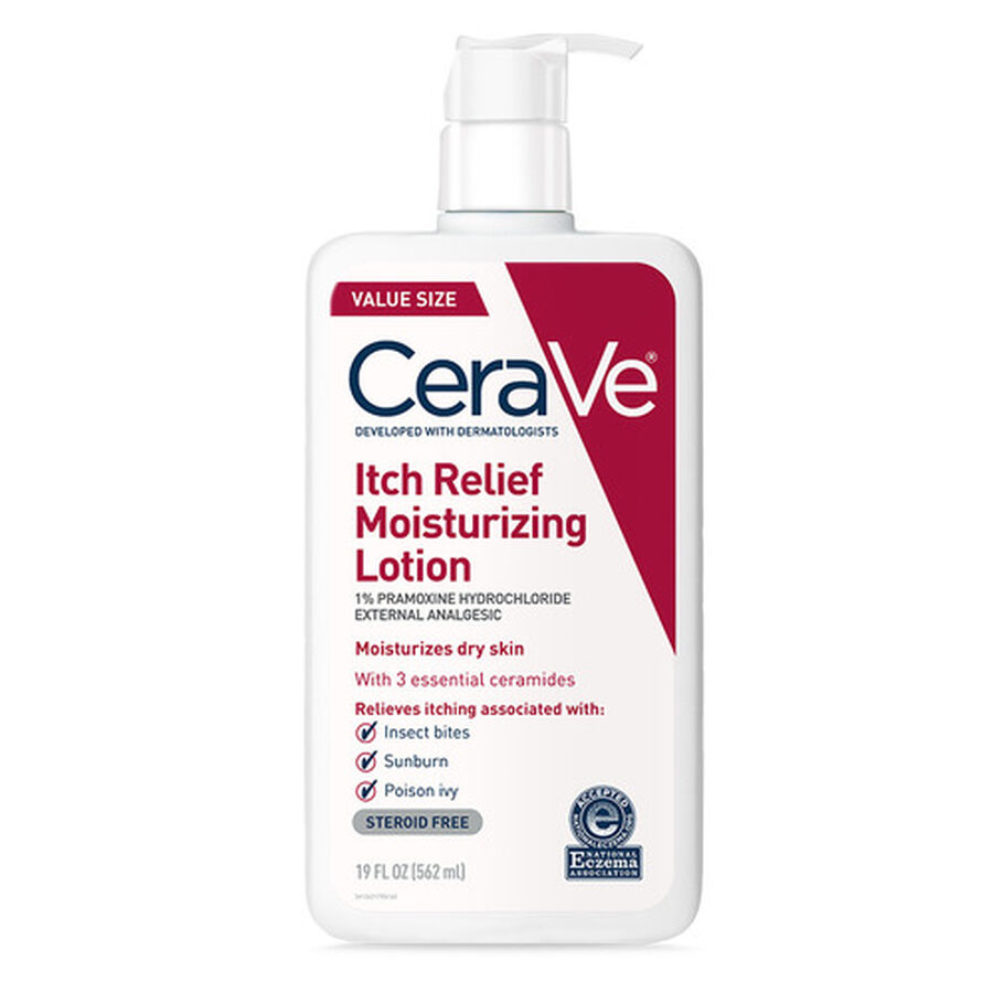 CeraVe Moisturizing Lotion for Itch Relief, , large image number 1