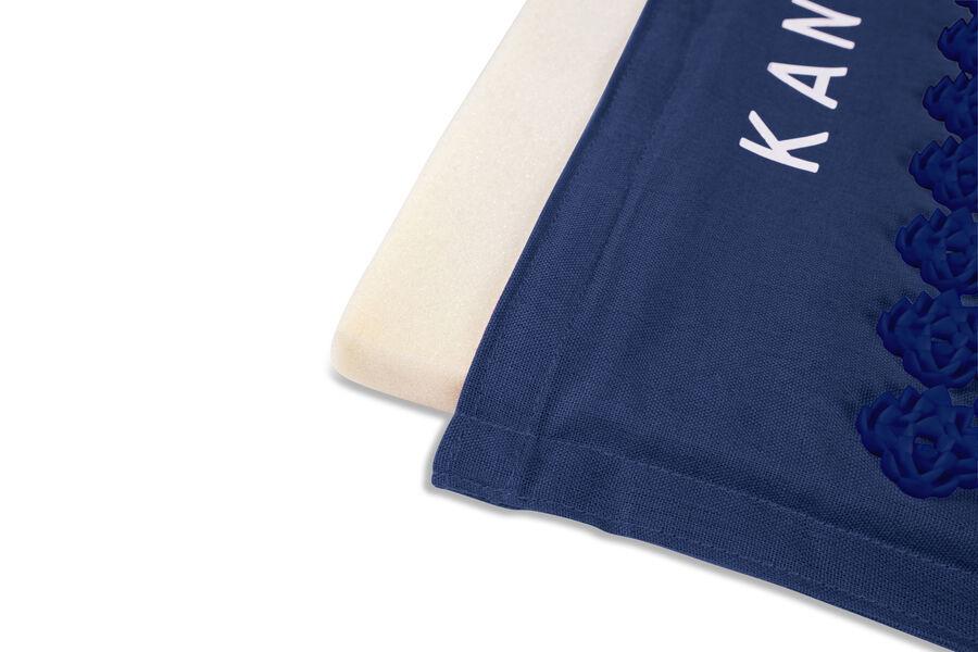 Kanjo Memory Foam Acupressure Mat Set, Navy Blue, , large image number 4