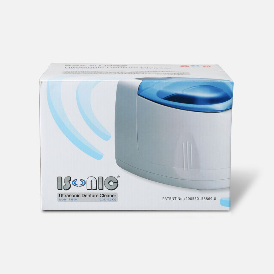 iSonic Ultrasonic Denture & Retainer Cleaner F3900, , large image number 2