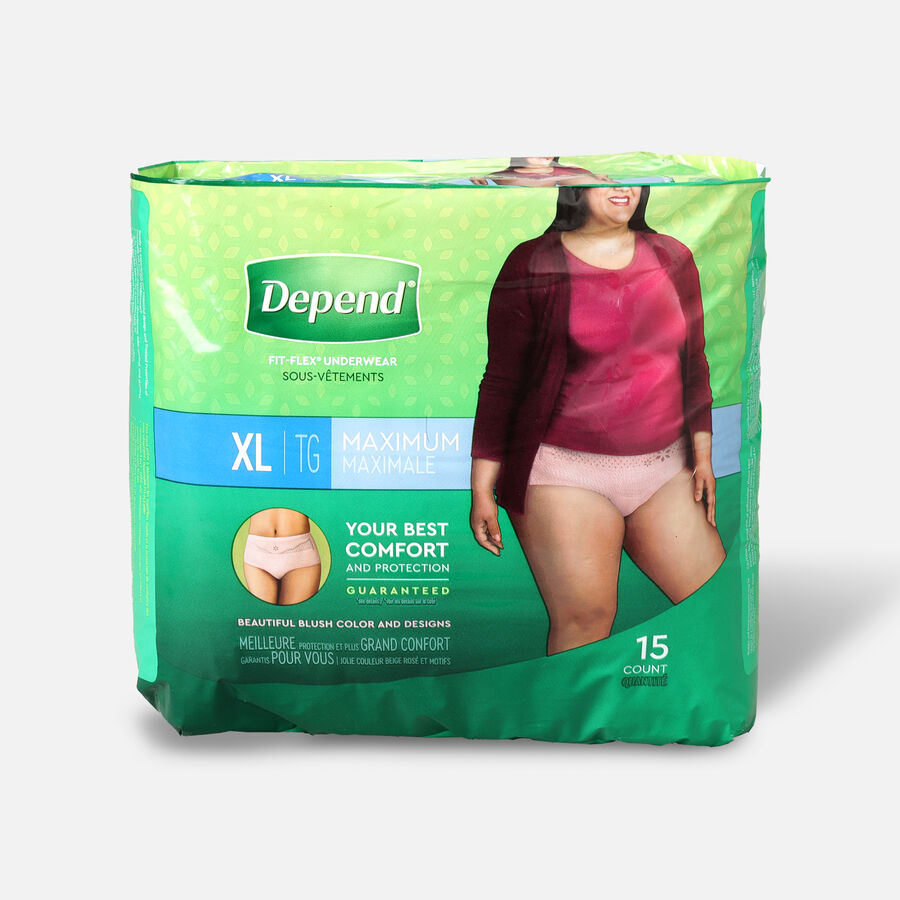 Depend Fit-Flex Max for Women, , large image number 2