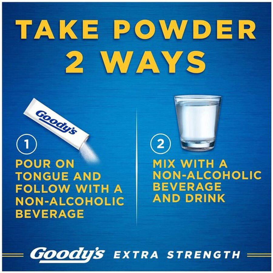 Goody's Extra Strength Headache Powder, , large image number 3