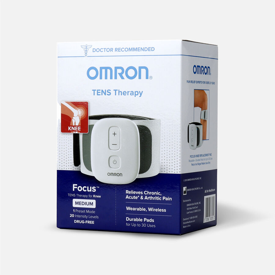OMRON Focus TENS Therapy for Knee, Wearable, Wireless, Medium, , large image number 2