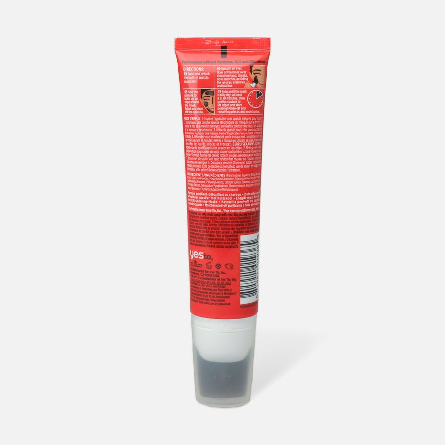 Yes To Tomatoes Charcoal Peel-Off Mask, , large image number 1