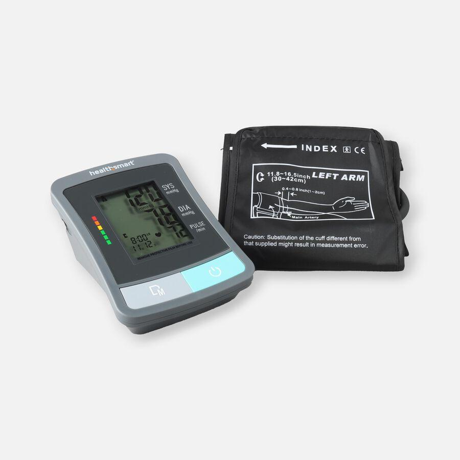 HealthSmart Standard Series LCD Digital Upper Arm Blood Pressure Monitor, , large image number 0