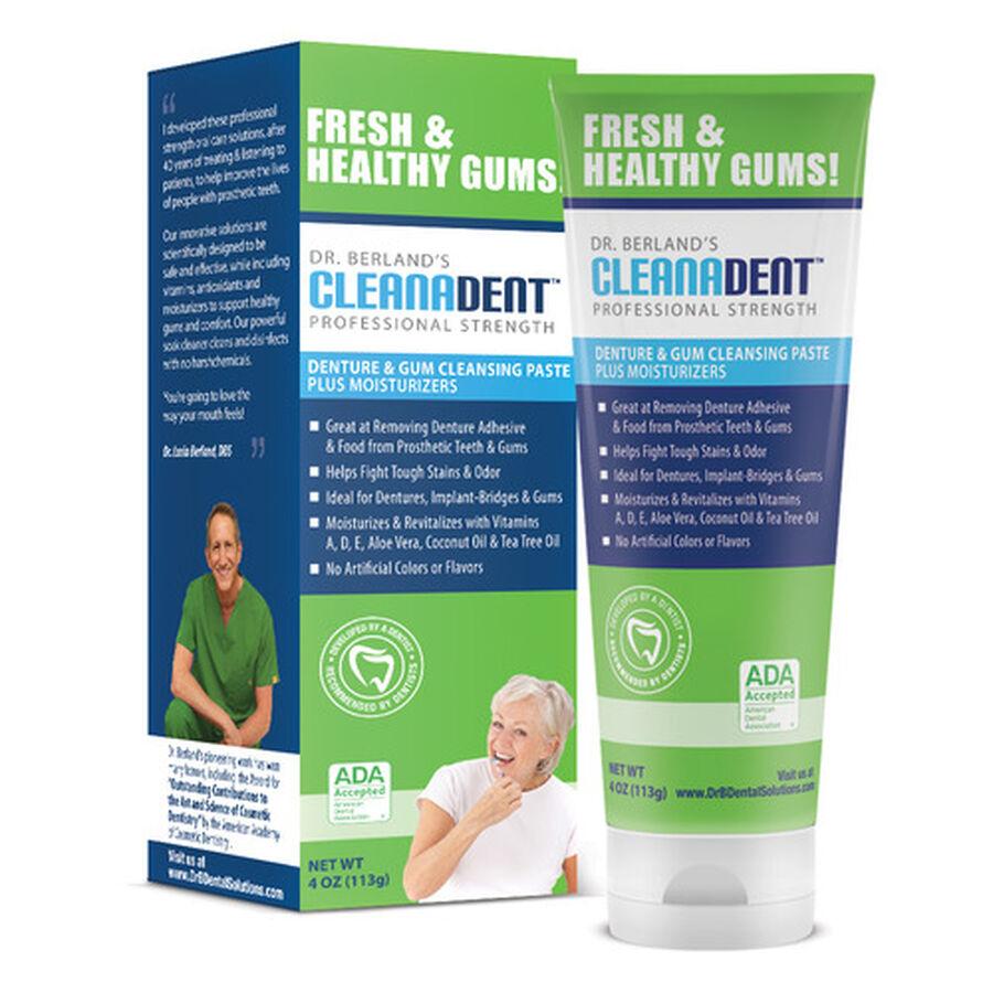 Dr. B Dental Solutions Denture & Gum Cleansing Paste - 4oz, , large image number 2