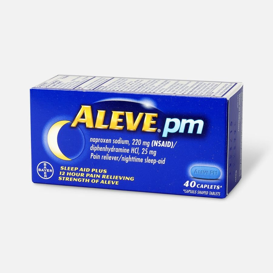 Aleve PM Caplets, 40 ct, , large image number 1