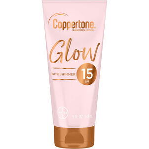 Coppertone Glow Sunscreen Lotion, 5 Oz