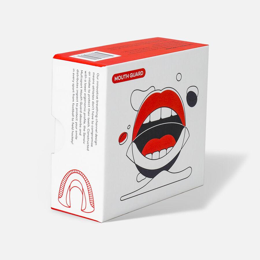 Sensiv Custom Fit Multi-Sport Mouth Guard - Black, , large image number 4