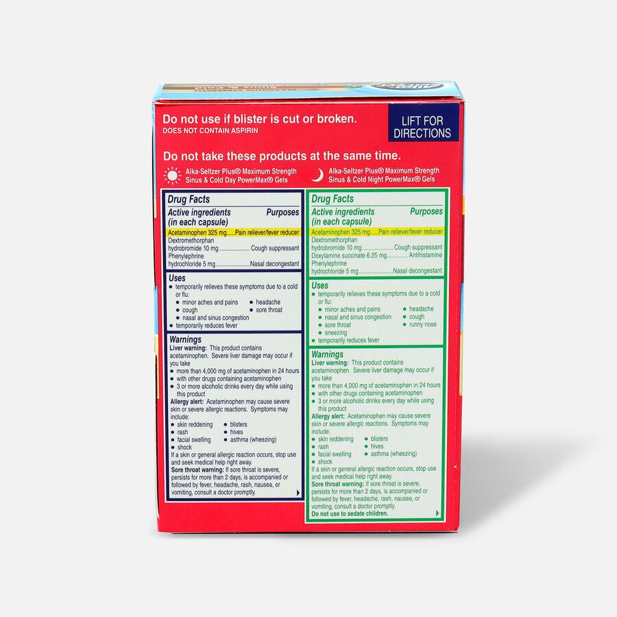 Alka-Seltzer Plus PowerMax Gels, Severe Cough, Mucus & Congestion, 24ct, , large image number 1