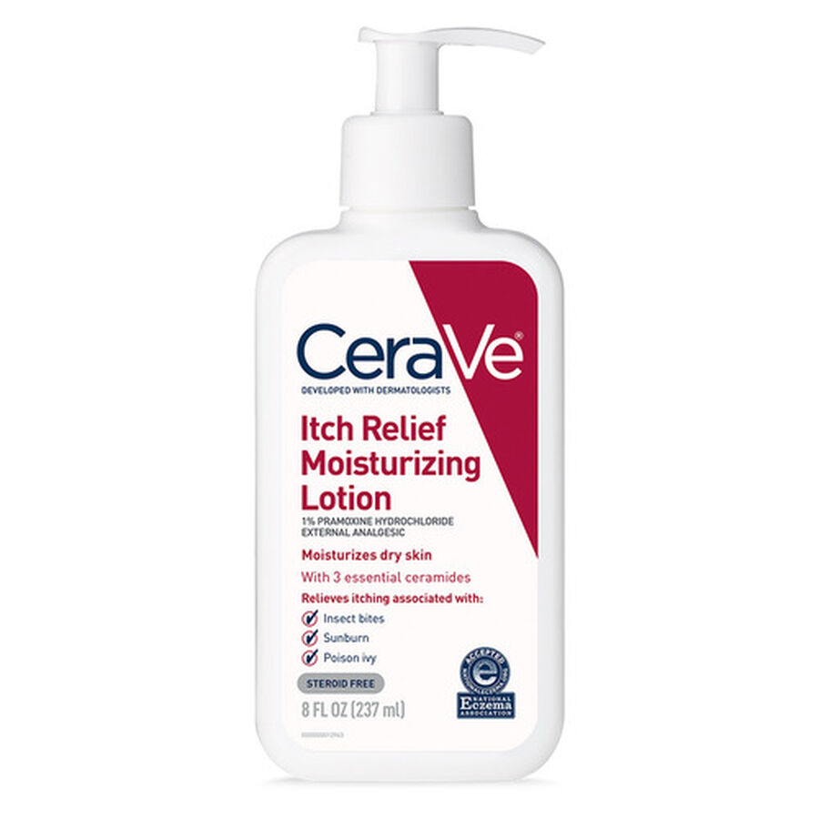 CeraVe Moisturizing Lotion for Itch Relief, , large image number 2