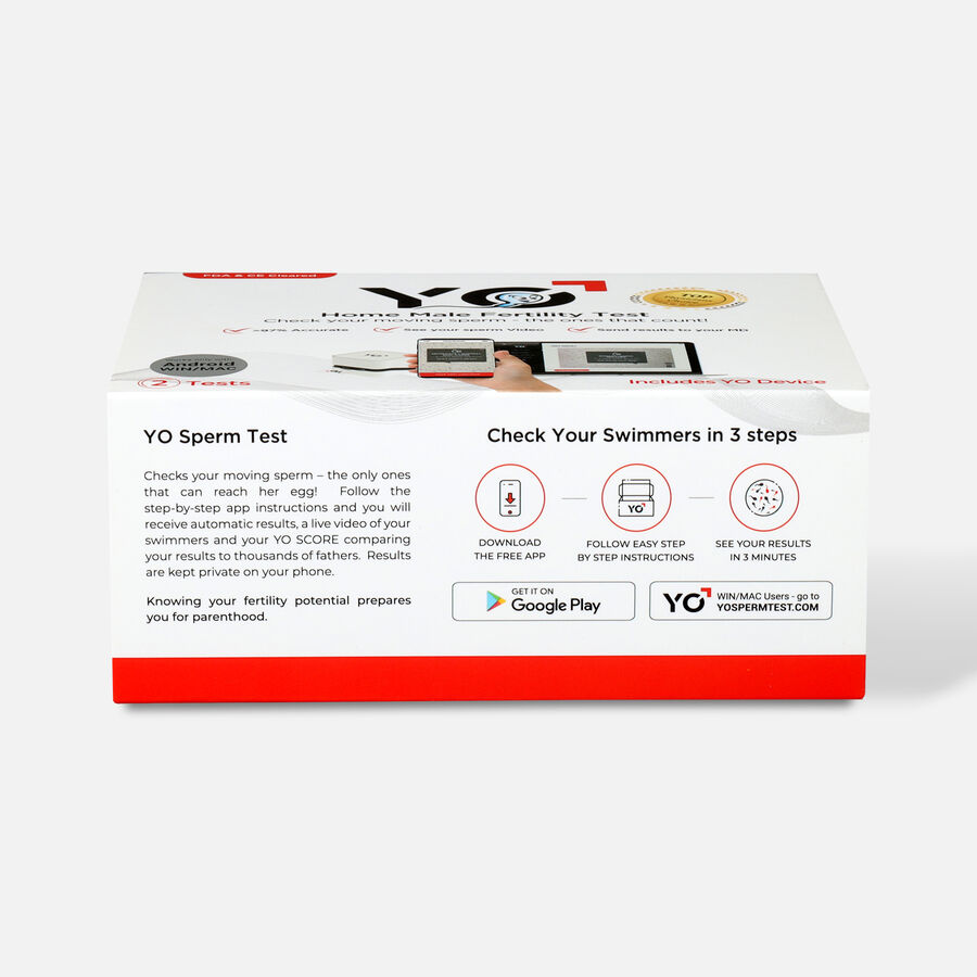 YO Home Sperm Test Kit - Universal, , large image number 1